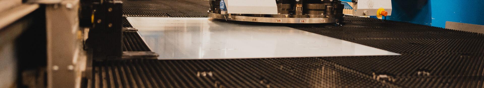 Stansning & laserskärning - Bors Press